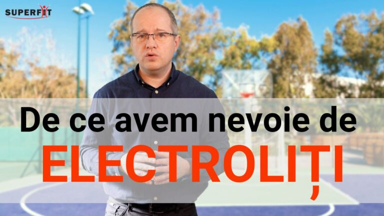 De ce avem nevoie de electroliti