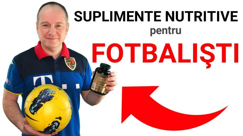 Suplimentele nutritive in fotbal