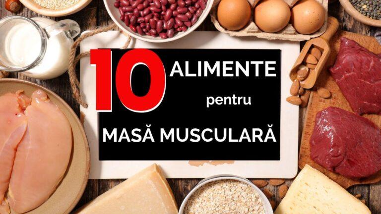 Alimente pentru masa musculara