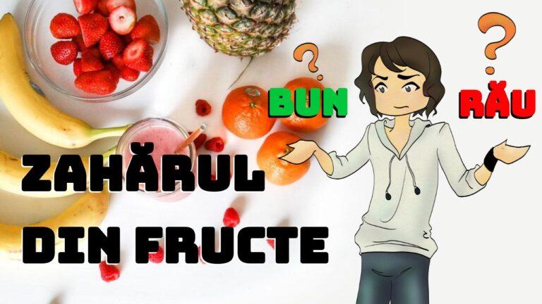 Este periculos zaharul din fructe?